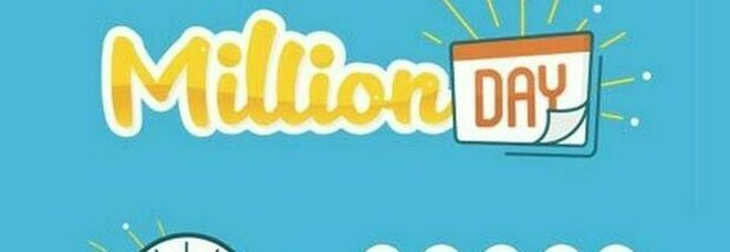 Million Day, i numeri vincenti di sabato 17 ottobre 2020