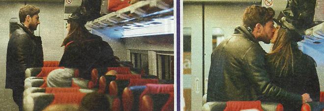 Cecilia Rodriguez e Ignazio Moser, scoppia la passione sul vagone nel treno