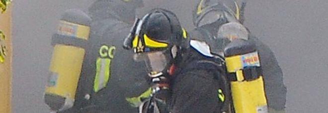 Incendio e tanto fumo all'asilo nido: le fiamme sono scaturite da un corto circuito