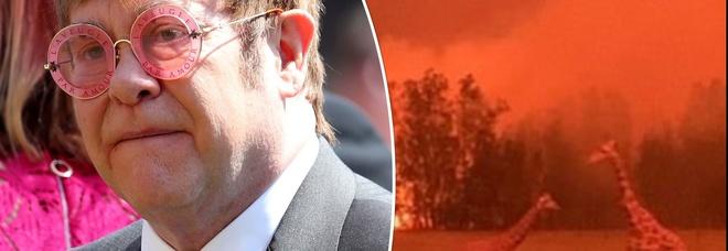 Incendi in Australia, Elton John dona un milione di dollari per fronteggiare l'emergenza