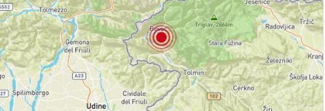 """Terremoto al confine italo-sloveno alle 11.22. """"Sentito chiaramente a Udine, Gorizia e Trieste"""""""