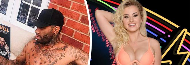 Gf Vip, flirt tra la modella e l'ex 'bad boy' del calcio: ora sono a rischio nomination