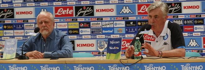 Napoli, la prima volta di Ancelotti: «Ronaldo è uno stimolo per tutti»