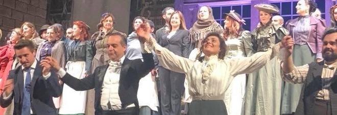 Valeria Sepe splendida Mimì: conquista il pubblico La Bohéme al Politeama