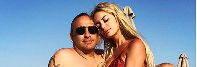 Elena Morali e il fidanzato Gianluca Fubelli (Instagram)