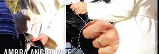 Ambra Angiolini e Allegri con la fede al dito si sono sposati in segreto?
