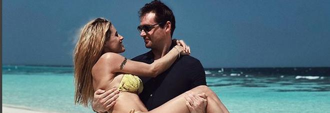 Michelle Hunziker, vacanze da sogno alle Maldive col marito Tomaso Trussardi e le figlie Aurora, Sole e Celeste