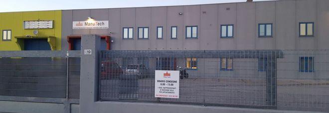 La sede della Manutech a Coseano
