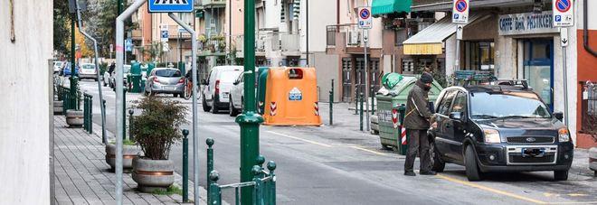Via Ciardi a Mestre, dove è avvenuta la lite