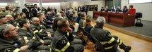 La firma del protocollo d'intesa tra l'Associazione Donatorinati - Polizia di Stato e i Vigili del fuoco al Viminale
