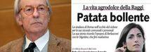 """Vittorio Feltri a giudizio per il titolo """"patata bollente"""": sessismo. Raggi: «Vittoria per le donne»"""