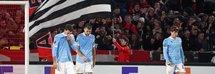 La delusione dei giocatori della Lazio