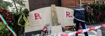 Roma, nuovo sfregio al monumento di Aldo Moro in via Fani: sulla lapide la scritta BR