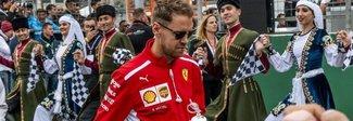 Gp Baku, Vettel non fa drammi:  «Sfortunato, ma la Ferrari c'è»