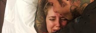Chiara Ferragni piange dopo il parto: «È stato lungo e faticoso». E Fedez le resta vicino