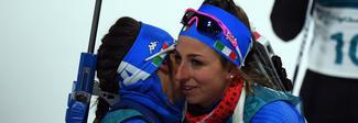 Biathlon, staffetta mista: Vittozzi, Wierer, Hofer e Windisch conquistano il bronzo, ma i giudici esaminano la volata
