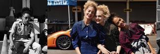 Donne e motori, la nuova campagna di Miu Miu