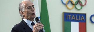 Malagò: «Potrebbe anche non esserci il commissario»