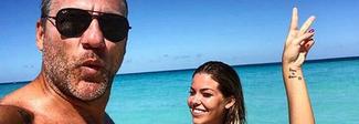 Bobo Vieri e Costanza Caracciolo, fuga d'amore alle Bahamas: «Il segreto è saper ridere insieme»