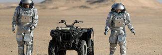 Simulazione dello sbarco su Marte, in Oman c'è anche l'orto made in Italy