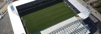 Frosinone-Perugia, denunciati due tifosi del Grifo: danni allo stadio «Stirpe»