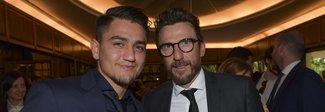 Roma, Under e Pellegrini tra i migliori giovani Under 23. Schick il grande assente