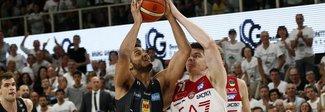 Finale scudetto, Trento-Milano 77-74: la serie adesso è sul 2-2