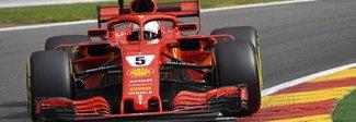 Gp del Belgio, Vettel sfreccia nelle prime libere. Terzo Hamilton