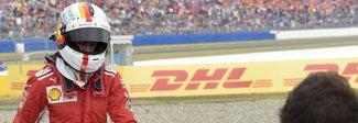 Gp Germania, Hamilton a sorpresa: Vettel fuori pista mentre era in testa