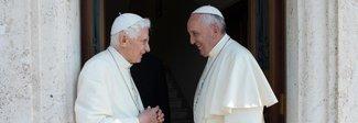 Benedetto XVI: «Basta stolti pregiudizi su Papa Francesco»