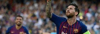 Poker del Barcellona al Psv con tripletta di Messi