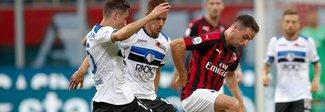 Milan-Atalanta 2-2: Rigoni gela San Siro