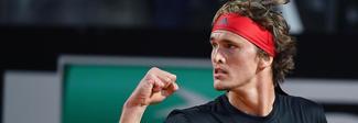 Internazionali, Zverev supera Cilic e raggiunge in finale Nadal