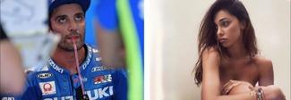 Andrea Iannone sul podio ad Aragon, e su Instagram arriva il commento di Belen che non ti aspetti