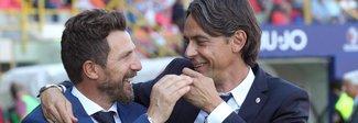 Di Francesco vs fratelli Inzaghi, primo round da dimenticare