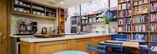 I libri di ricette? A Londra arriva la prima libreria con cucina