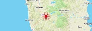 Terremoto a Cosenza alle 18.32: «Paura tra la gente, molti in strada»