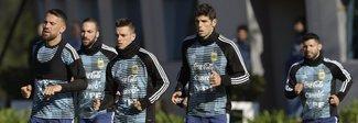 Argentina, Higuain raggiunge il ritiro a Buenos Aires: «Sogno un grande Mondiale»