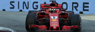 GP Singapore, Ferrari Raikkonen comanda le libere2, poi Hamilton. 9° Vettel ma ottimista: «Ho buone sensazioni»