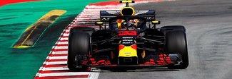 Barcellona, Verstappen il più veloce nei test. Vettel terzo