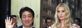 Ivanka Trump in Giappone sceglie un abito in stile kimono (e convince tutti)