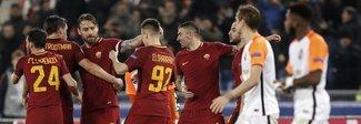 La Roma stende lo Shakhtar  e vola ai quarti dopo dieci anni