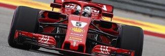 GP Usa alla Ferrari: vince Raikkonen