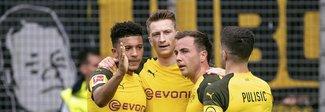 Il Borussia Dormund vince a Friburgo  e torna a meno 1 dal Bayern Monaco