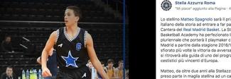 Matteo Spagnolo, un 14enne italiano al Real Madrid: è il primo di sempre, sulle orme di Doncic