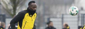 Bolt al provino con il Borussia Dortmund: due gol e tante ovazioni Video