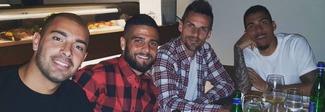 Napoli, l'ultima cena di squadra: gli azzurri salutano la loro stagione