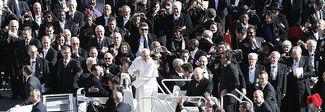 19 marzo 2013 A San Pietro messa di Inizio pontificato di papa Francesco