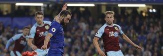 Premier League, il Chelsea rallenta: pari deludente in casa contro il Burnley. Ma Higuain interrompe il digiuno