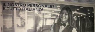 Lo spot della Moby-Tirrenia scatena la bufera: «Da noi solo personale italiano»